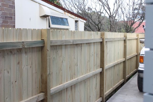 Built Right Fencing Timber Standard Fences